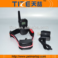 New upgrade remote pet training collar with lcd display TZ-PET998RU electronic collar