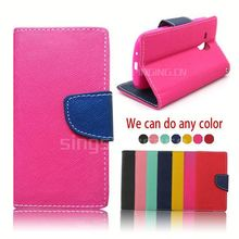 china wholesale card slot with stand leather for nokia e63 case cover