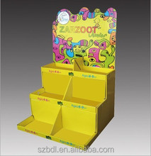 POP Custom Retail Cardboard counter display box for advertising