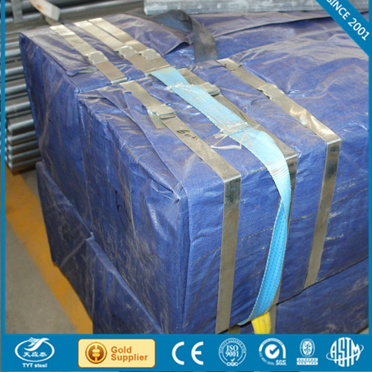 High quality galvanized square steel pipe/tube attractive price