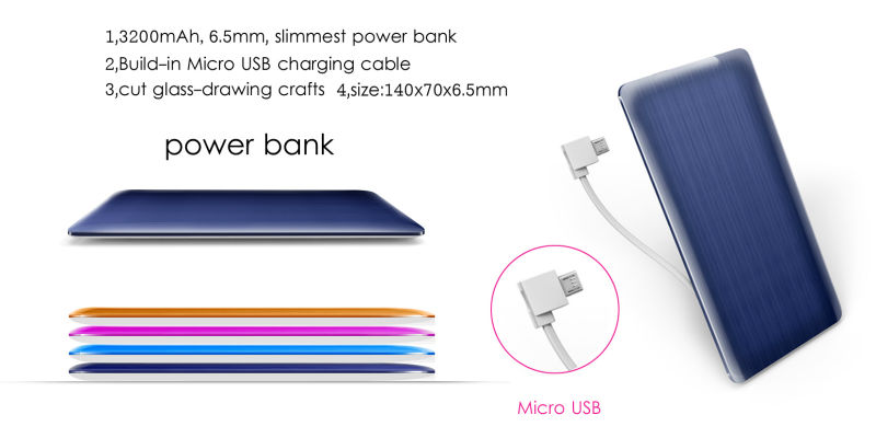 power bank electronics mini projects car Power Bank 3200mah made in China
