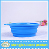Outdoor And home Use Supreme dog bowl Folding Silicone Dog Bowl