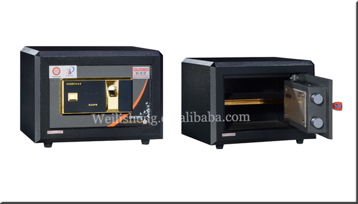 economic electronic mini fireproof safe box for home