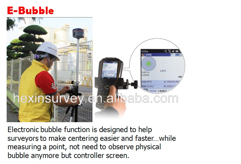Professional Klida Gnss rtk system K5 PLUS RTK GPS GNSS with Tilt Survey, E-Bubble, NFC functions