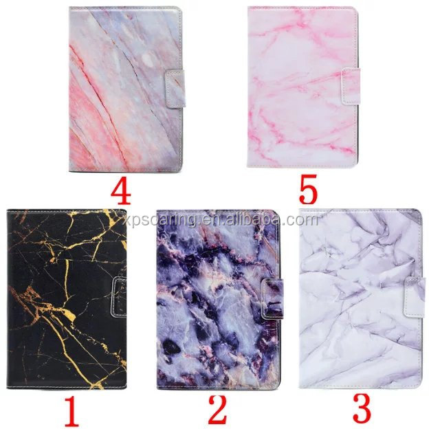 PU Leather printing marble flip phone cover case for ipad 5 6 ,for ipad 5 6 pu leather cover case