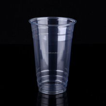 24oz/690ml Large capacity disposable PET juice cup