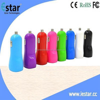 10 colors 5V 2.1A USB Car Charger for iPhone 6/6Plus