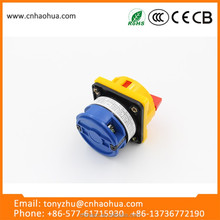 LW26GS series 32A chinese products wholesale waterproof rotary cam switch with single padlock