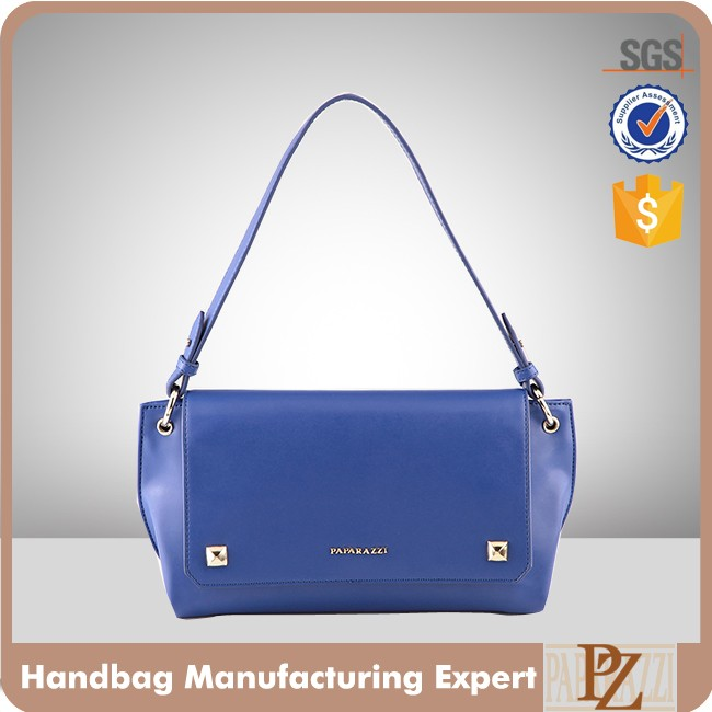 5101-2017 Hot sale Guangzhou Paparazzi designer vogue custom women big studs handbags lady shoulder bag with good price