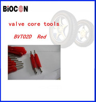 Red Plastic Handle one Way Valve Core Tire Repair Tool/valves core tools BVT02D