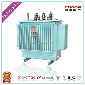 three phase oil immersed electrical 35kv oil transformers 400v distribution power transformer 1250kva