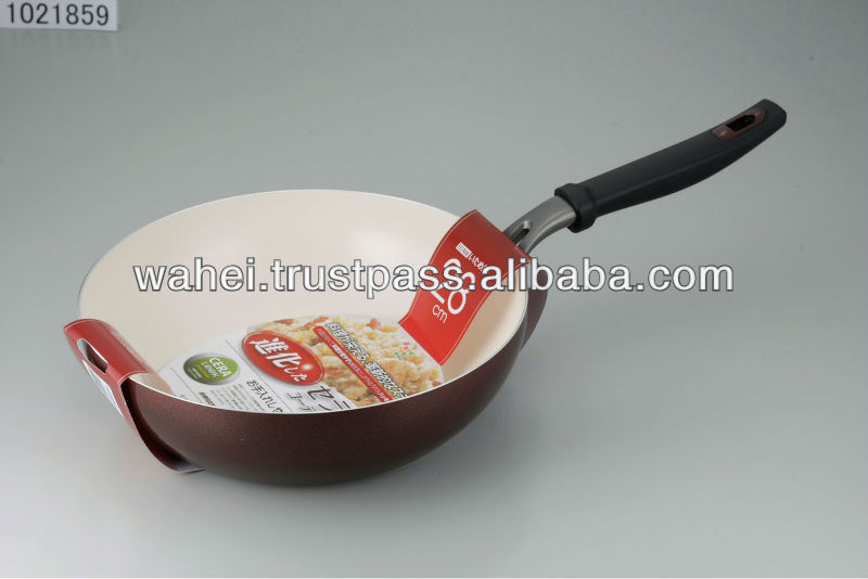 our popular line IH cooking ceramic or non-stick frying pan cookware made in Korea