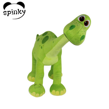 Stuffed Animal Toys Dinosaur Green Color Stuffed Dinosaur Plush Toy