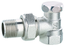 093431 Nickel Plated Brass Stop Valve for Plumbing, Water Flow Back, 16Bar