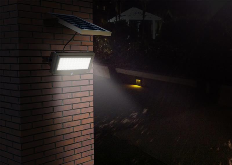 Mini Led Solar Powered Motion Sensor Path Lights Flood