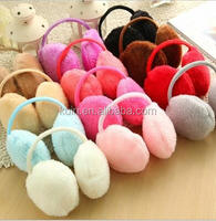 Winter Warm Artificial Cony Hair Earmuff Fashional Artificial Cony Hair Earmuff