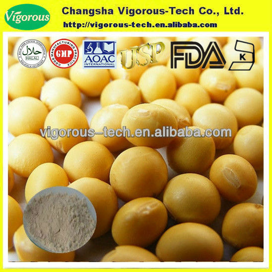 soy bean powder/organic soy p.e./water soluble soy isoflavone