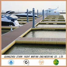 Heavy duty Floating dock with mooring finger marina