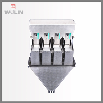 High Speed For Grain 4 Head Linear Weigher