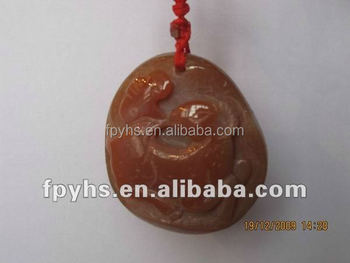 engraved agate stone