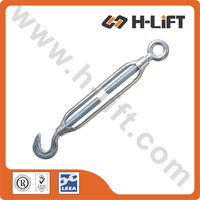 Turnbuckle Commercial Type Small Size Turnbuckle Hook & Eye Type