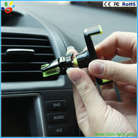 High quality silicon material car holder hand free mobil phone car holder