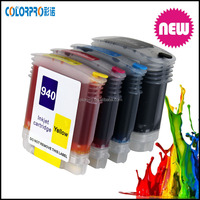 Refillable office supply printer ink cartridge for hp 940 for hp officejet pro 8000 8500