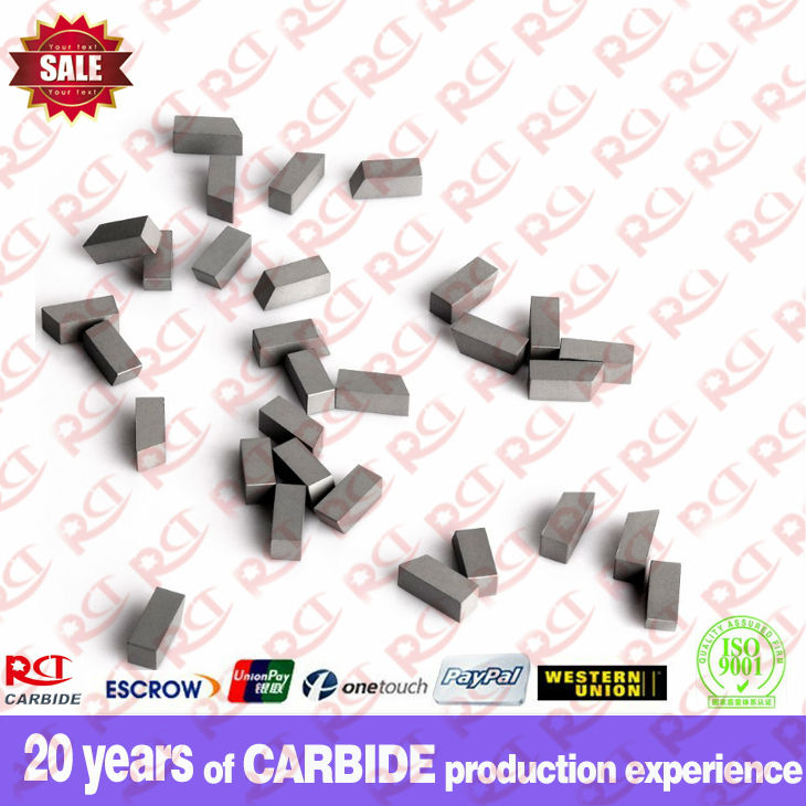Wood working carbide saw tips
