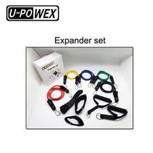 Natural High-density custom logo latex stretch power fitness loop resistance bands set