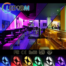 China Supplier 300leds 5M RGB 12V LED Light IP65 Waterproof SMD5050 14.4W/M Flexible LED Strip