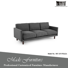 High quality very soft leather/fabric sofa furniture