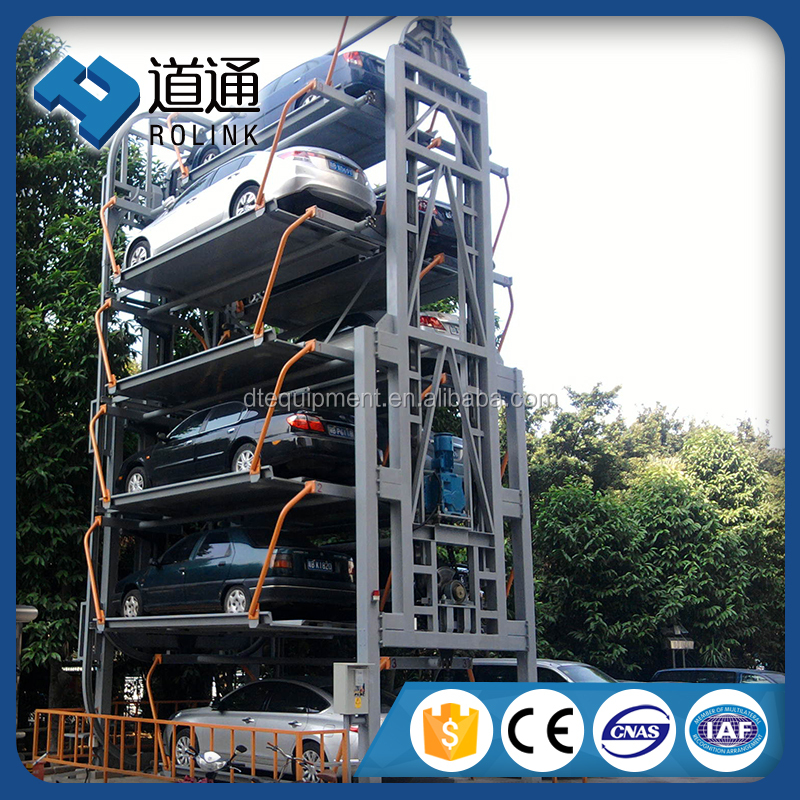 Standard Vertical rotary automated Smart Tower car parking System