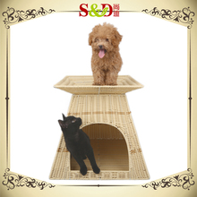 S&D adopts an original design eco-friendly weaving pet house