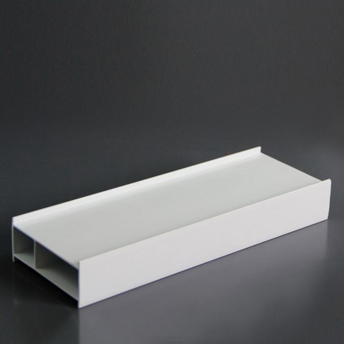 White Custom Extrusion Plastic PVC Corner Profile with SGS