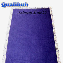 double fabric cotton printed beach towel