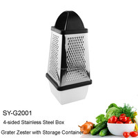 SY-G2001 Food Catcher Container For Best FOUR Sided Box Cheese Grater