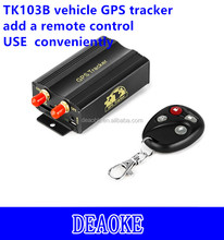 mini real time history playback tracker gps for car TK103B with memory card