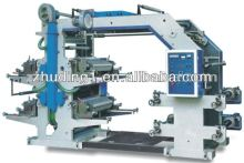 Plastic film flexo printing machinery