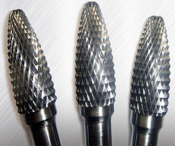 solid carbide Inverted conical carbide burrs alloy rotary file