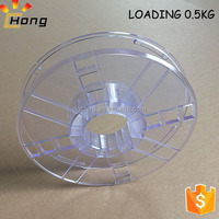 hollow design 3d printer filament empty spools