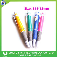 Low Price Pure Color Fingers Rubber Plastic Ball Pen