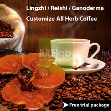 All-in-One healthy ganoderma black extract coffee