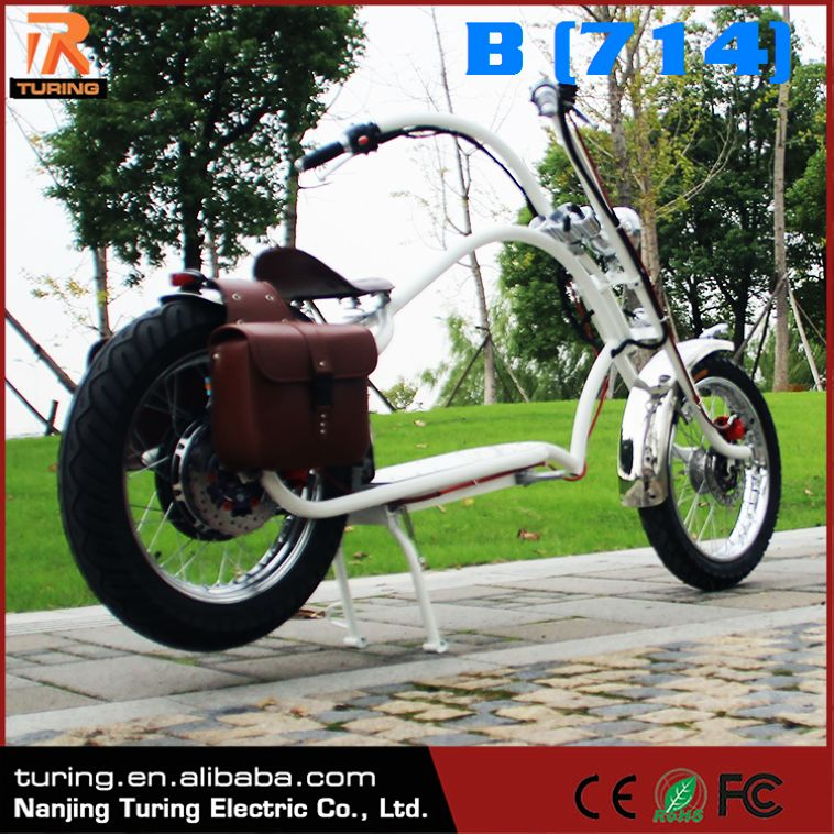 New 2017 Products Electric Motorcycle For Adults Drill Powered Bicicleta Chopper Bike