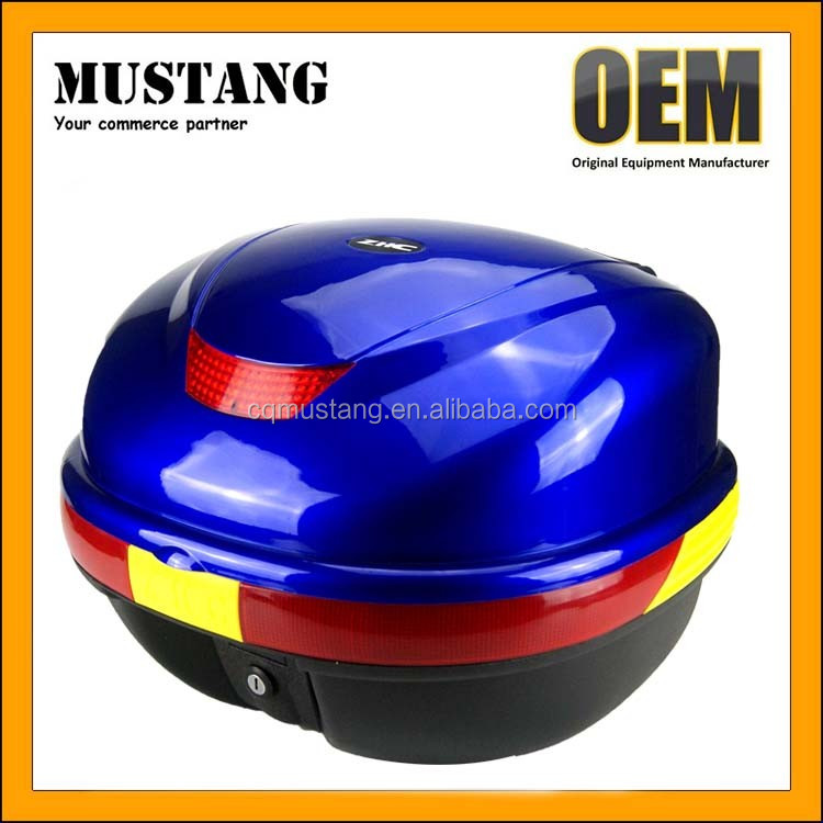 2017 Hot Sale Durable Black Color Motorcycle Rear Box