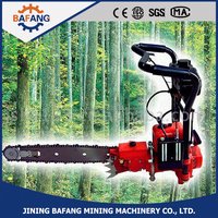 High Quality Petrol Gasoline Chain Saw Wood Hand Cutting Machine