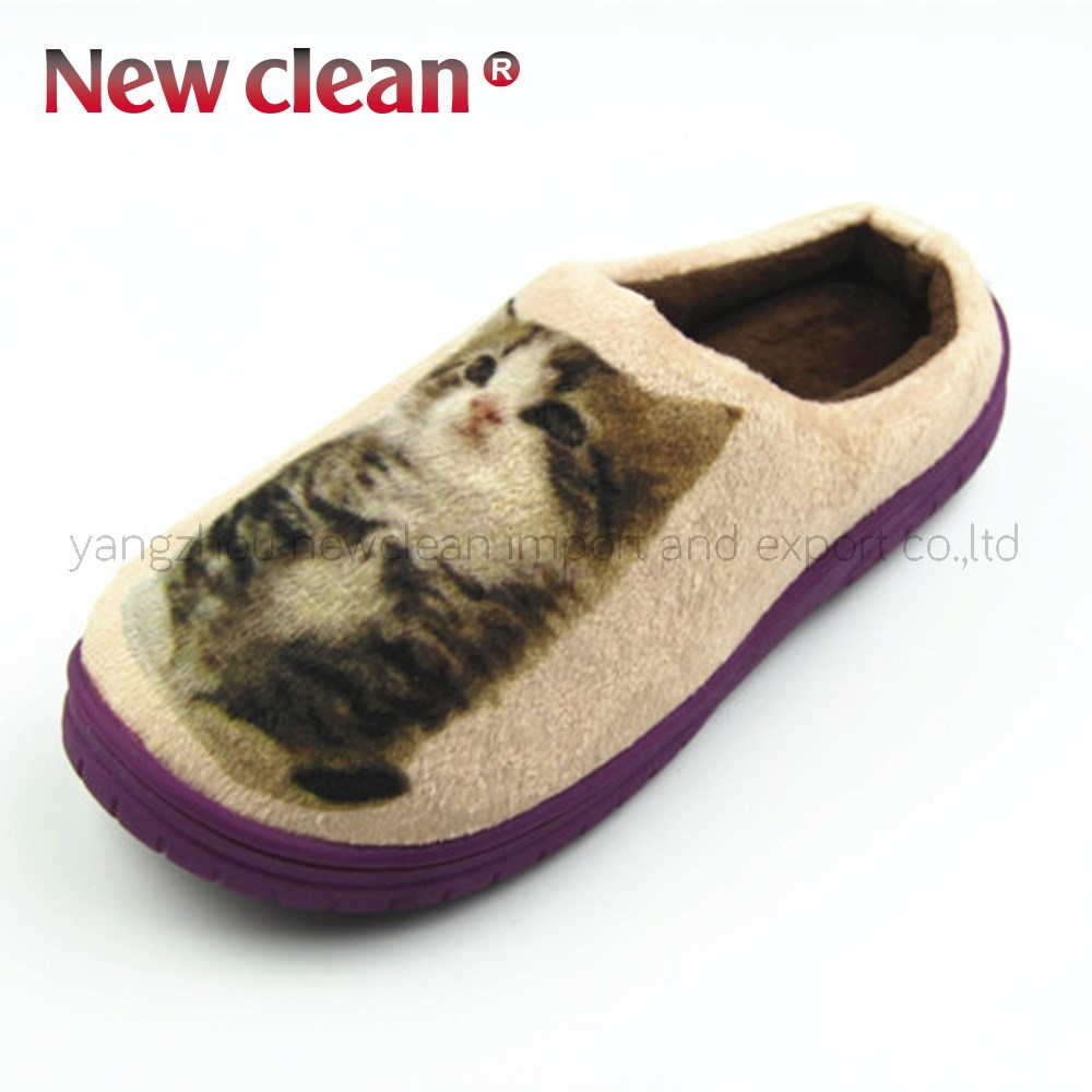Animal Novelty ODM warm Lady & Man surgical slipper
