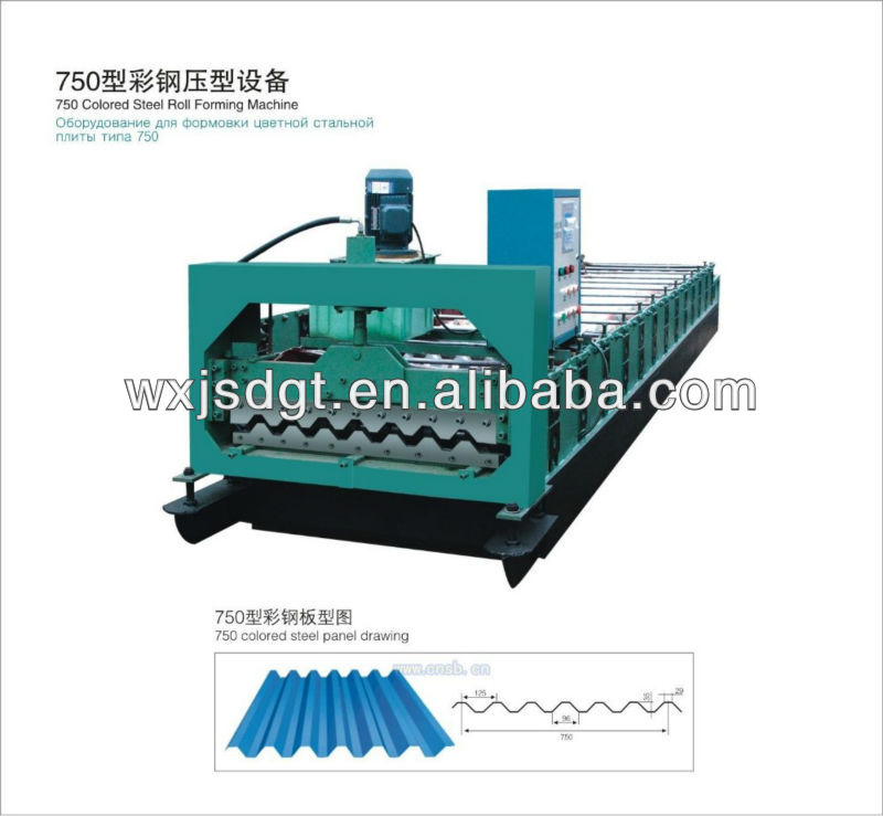 Double layer Sheet Roll Forming Machines/Corrugated sheet metal rollforming machine