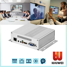 H5110B H.265/H264 video conference equipment streaming video encoder,iptv hdmi cvbs vga streaming encoder