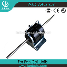 hot sale & high quality Fan Coil Single Phase Asynchronous Motor Double Shaft Electrical