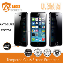 hot selling for iPhone 5S tempered glass screen film producer